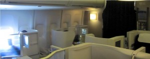 New York London – BA178 in Club World Business class