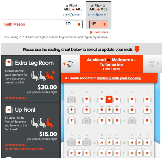 Score Jetstar 787 Business Class seats for Economy prices ...