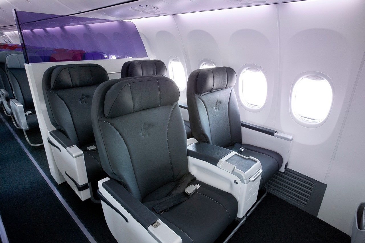 Virgin Australia domestic business class