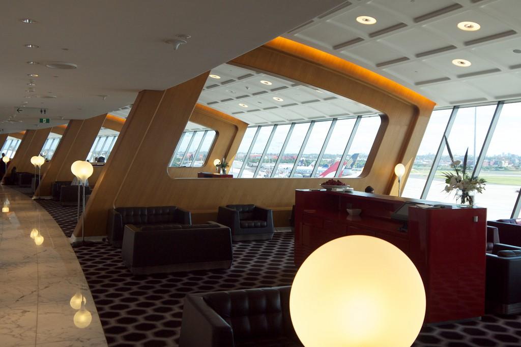 Qantas Sydney First Class Lounge
