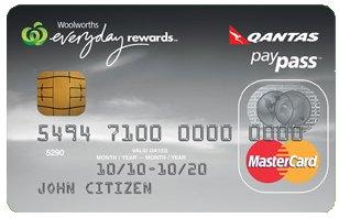 Woolworths Qantas Platinum Mastecard