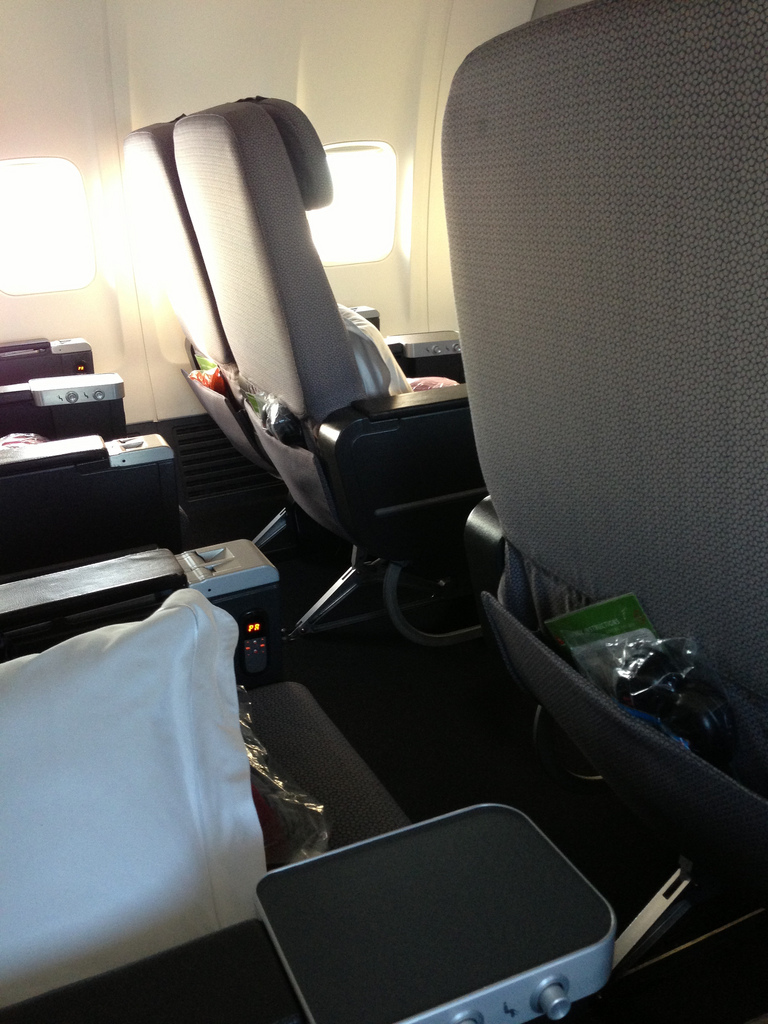 Qantas Trans-Tasman Business Class review