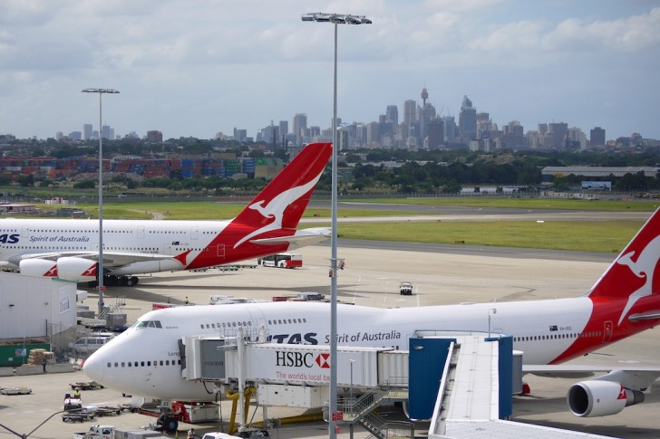 Exterior of Qantas Airlines 747 and A380 in Sydney | Point Hacks