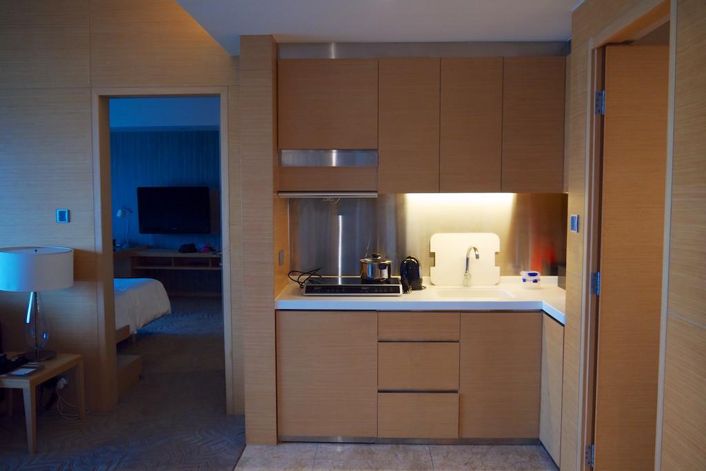 25 Kitchenette - Hyatt Regency Sha Tin 2 Bedroom Executive Suite | Point Hacks