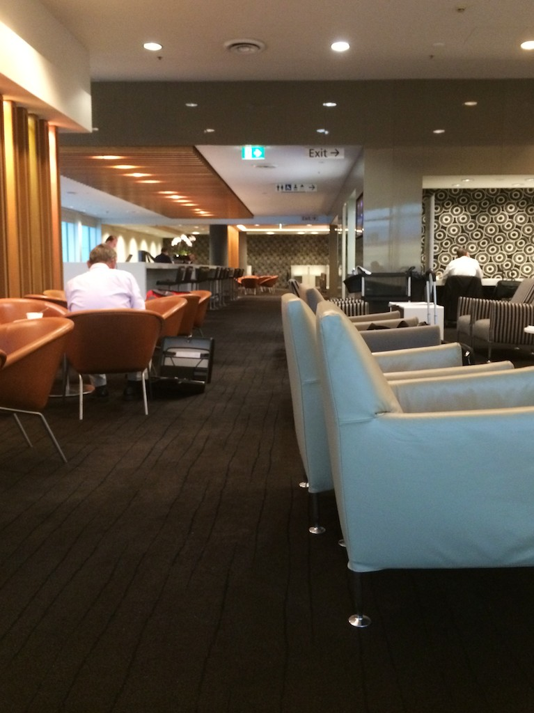 1 Qantas Domestic Business Lounge - Sydney