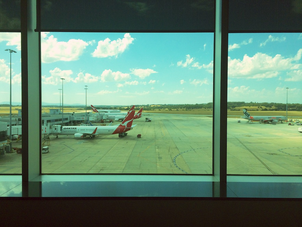 14 Qantas Domestic Business Lounge, Melbourne