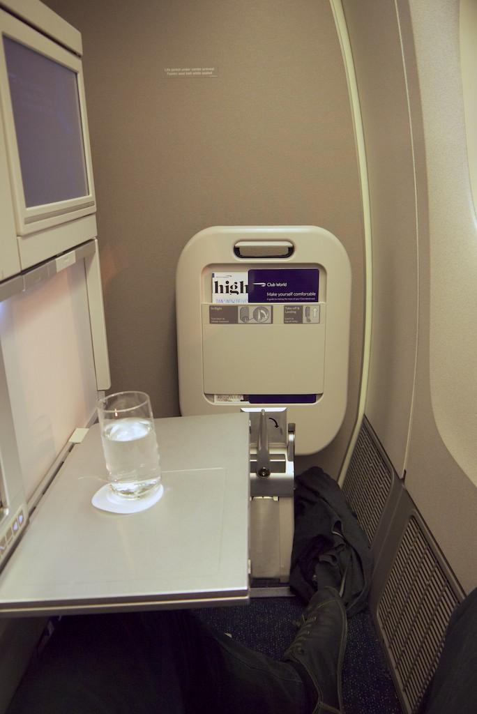2 Seat 16A - British Airways Club World - BA15 - London to Sydney