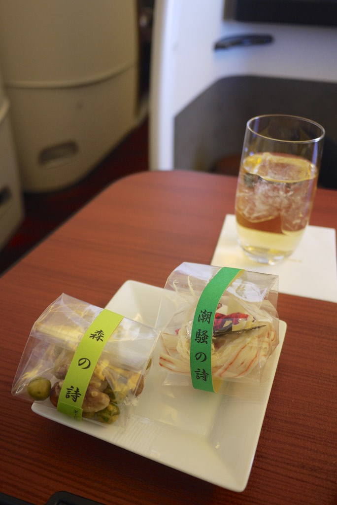 21 Japan Airlines First Class Dining - JL772 - Sydney - Tokyo | Point Hacks