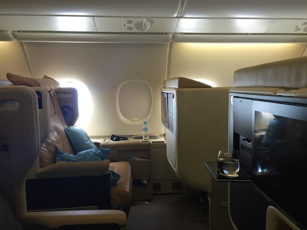 Singapore Airlines A380 Business Class Cabin (2) | Point Hacks