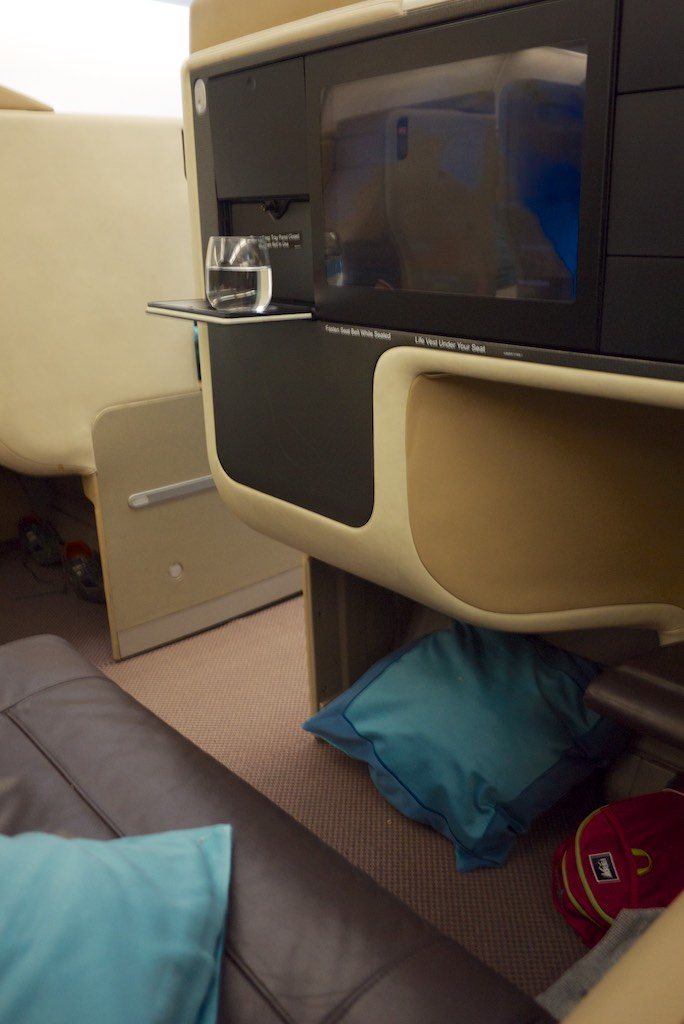 Singapore Airlines A380 Business Class Cabin (3)   Point Hacks