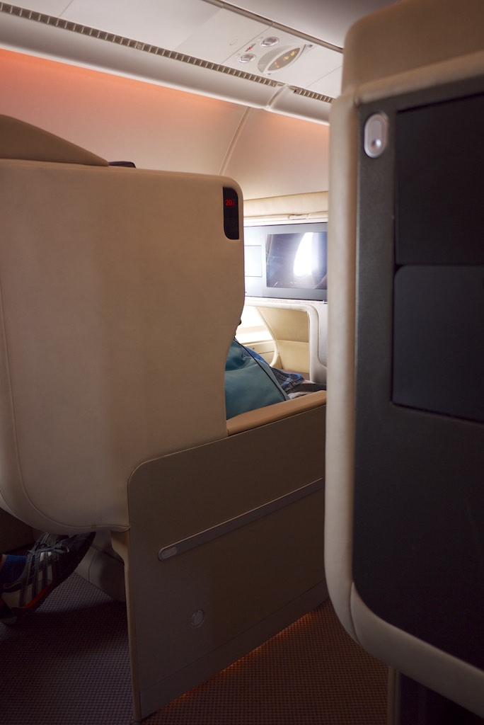 Singapore Airlines A380 Business Class Cabin (4)   Point Hacks