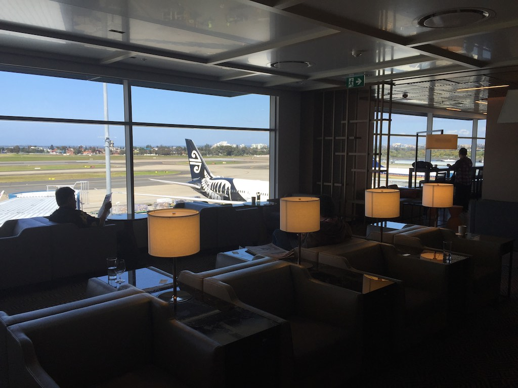 Singapore Airlines Sydney Business Class Lounge (3) | Point Hacks