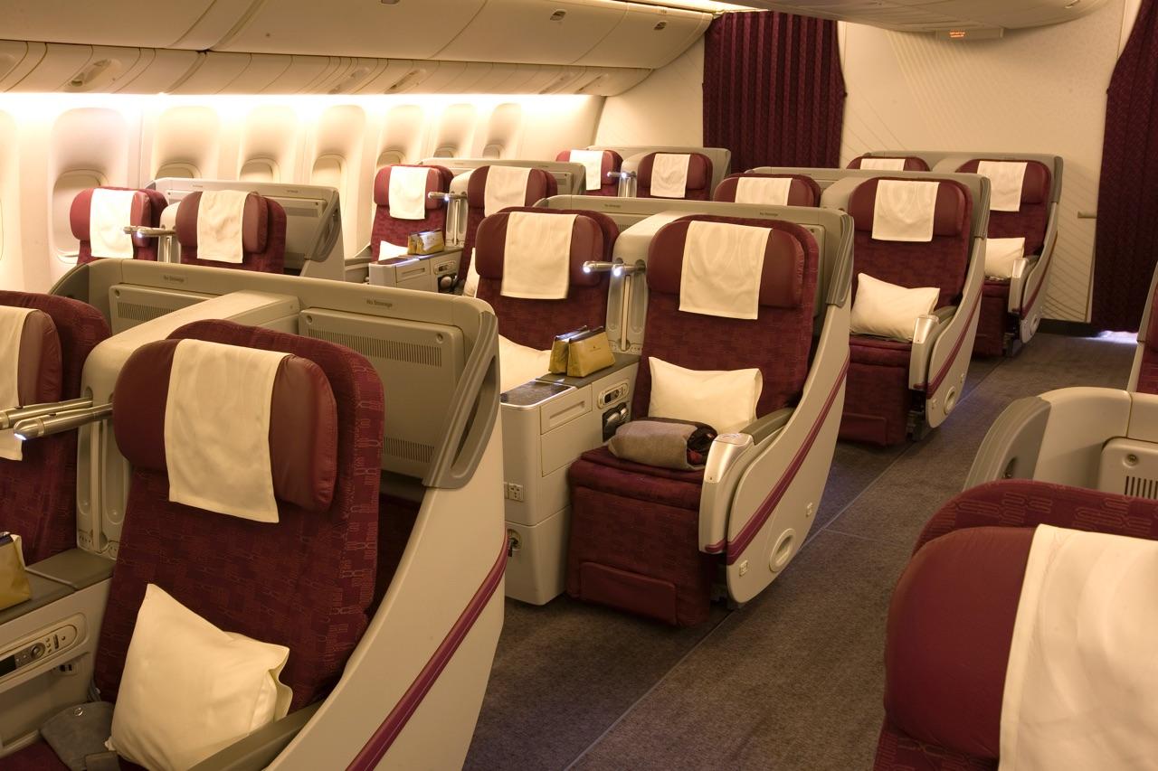 Qatar Airways 777-300ER Business Class 2 | Point Hacks