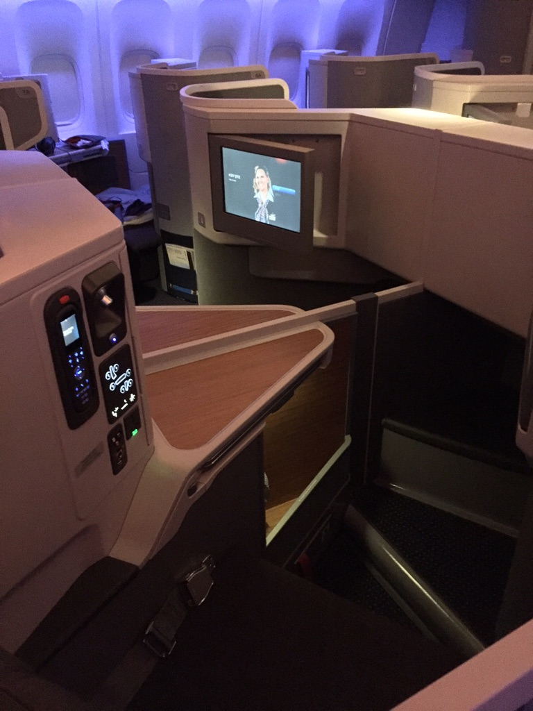 American Airlines 777 Business Class