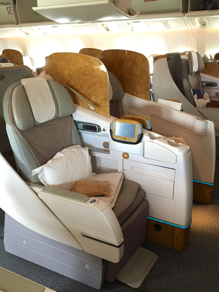 Emirate 777 Business Class