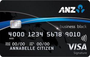 The ANZ Business Black Visa