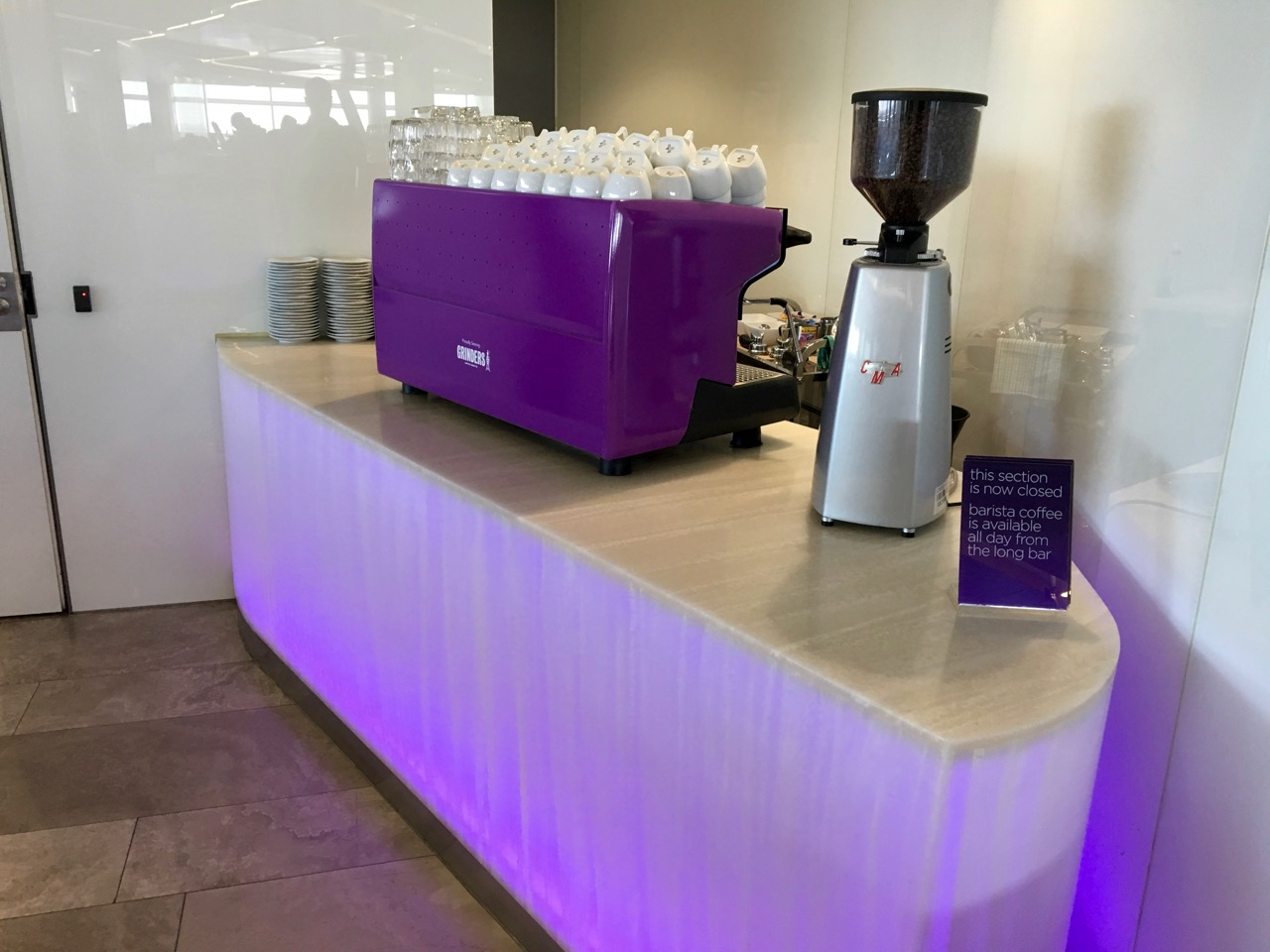 Sydney Virgin Australia Lounge Coffee1 | Point Hacks