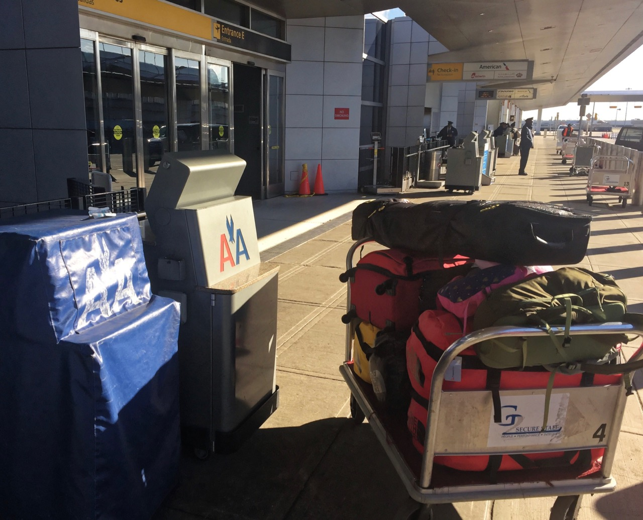 American Airlines Kerbside Check-In | Point Hacks