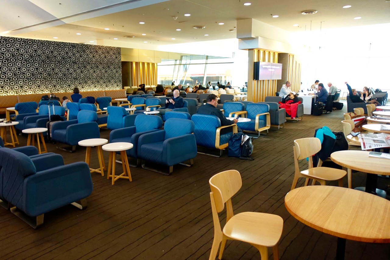 Seating - Qantas Domestic Business Lounge Sydney (5) | Point Hacks