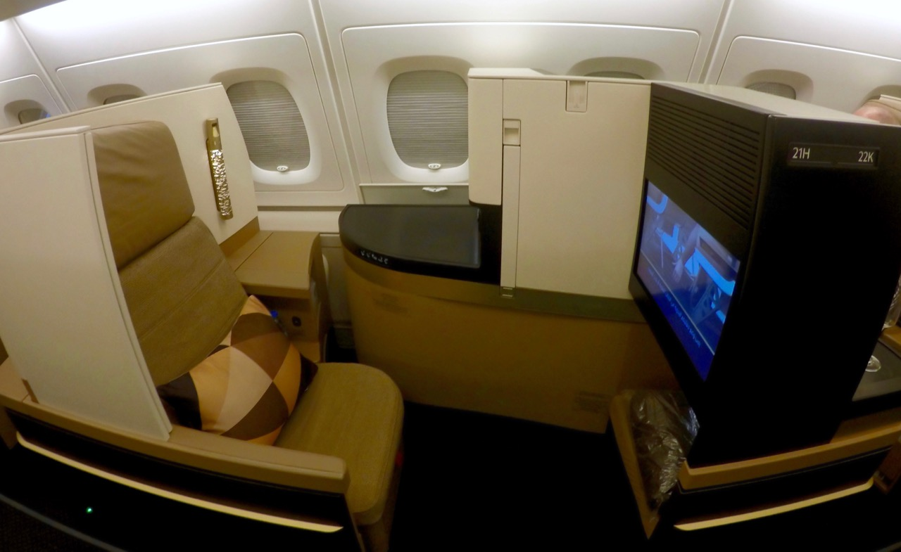 Etihad A380 Business Studios