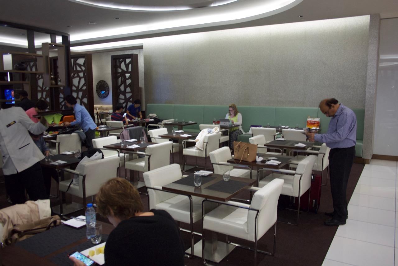 Etihad Abu Dhabi Lounge | Point Hacks