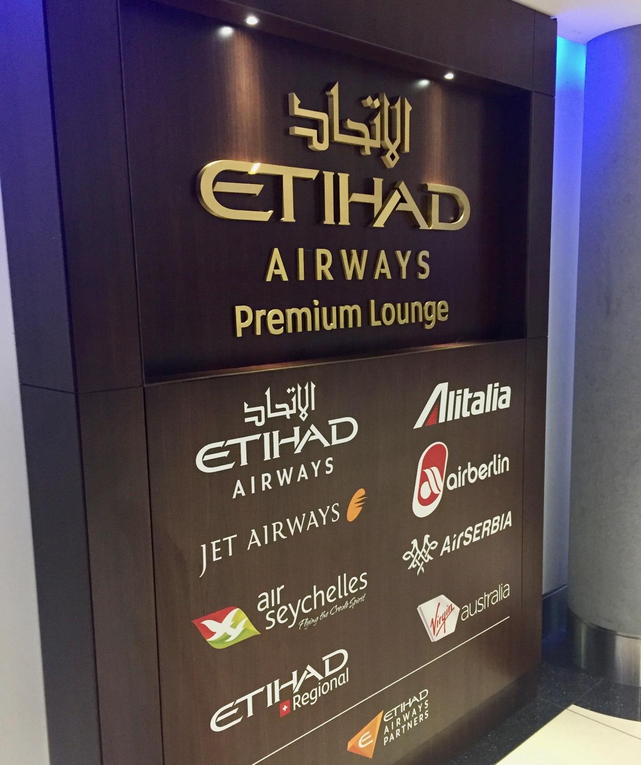 Etihad Premium Lounge Abu Dhabi | Point Hacks