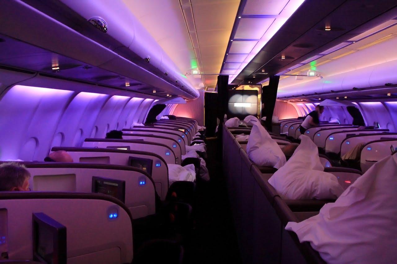 Virgin Atlantic Upper Class Youtube Shot | Point Hacks