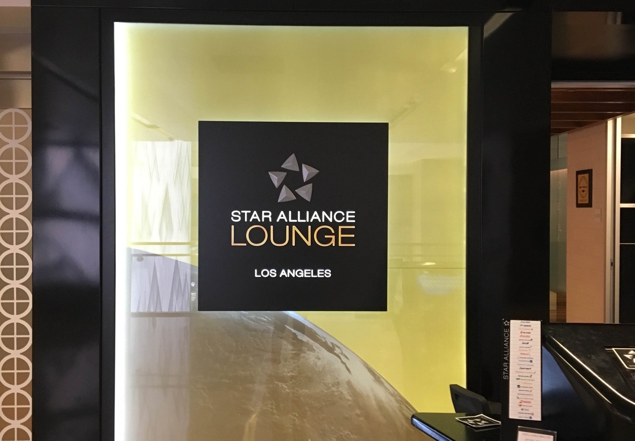Star Alliance Lounge Los Angeles | Point Hacks