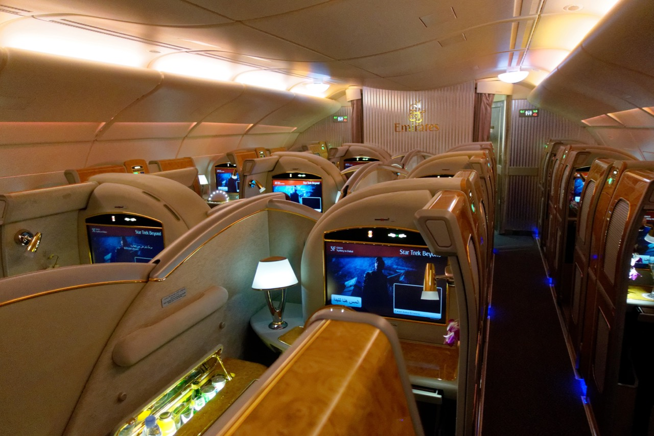emirates-first-class-cabin | Point Hacks