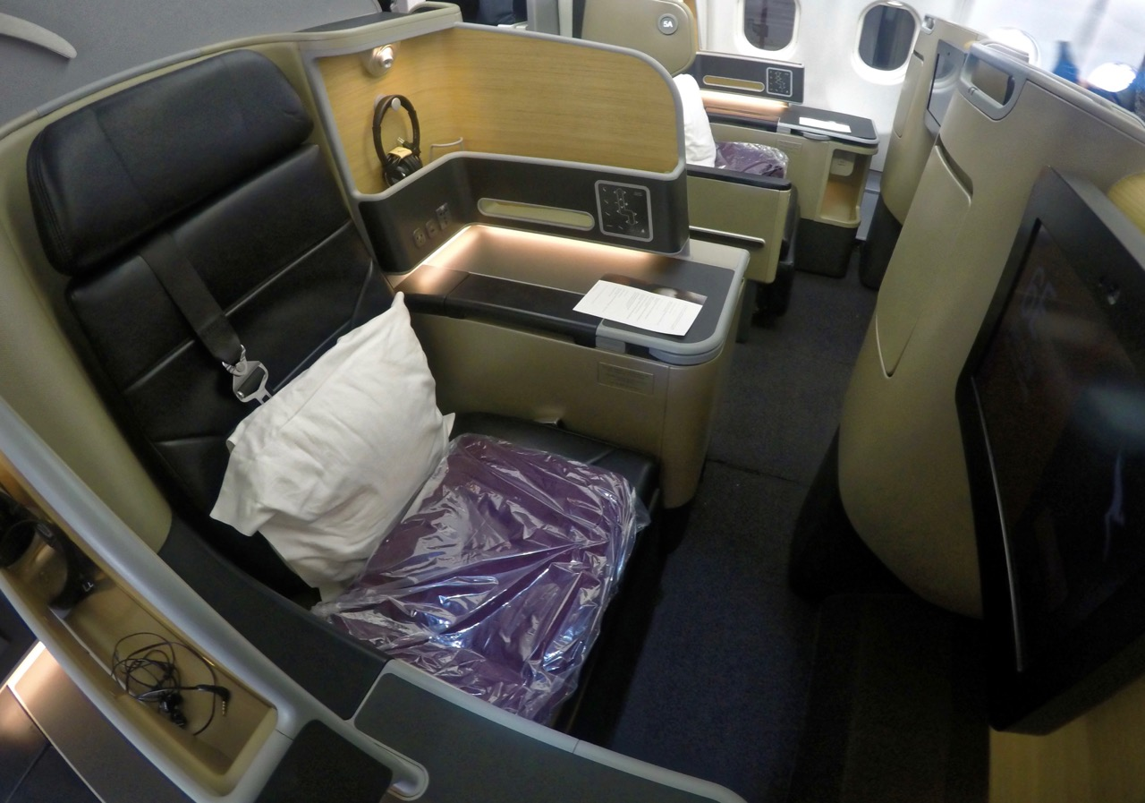 Qantas A380 Domestic Business Class