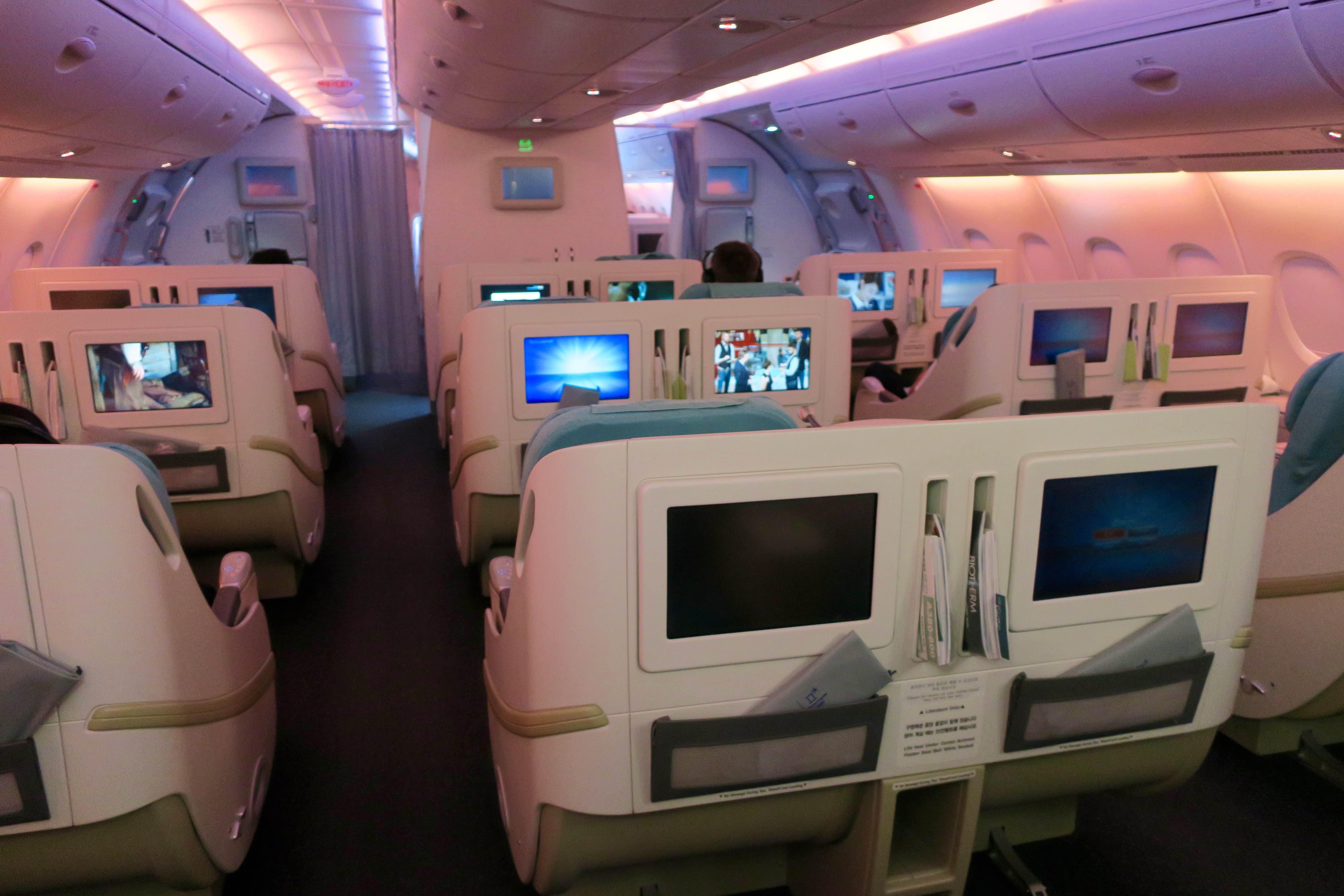 Korean Air First Class A380-747 | Point Hacks