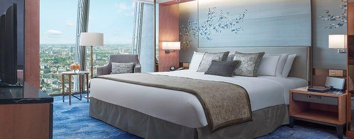 Shangri La Shard Room | Point Hacks