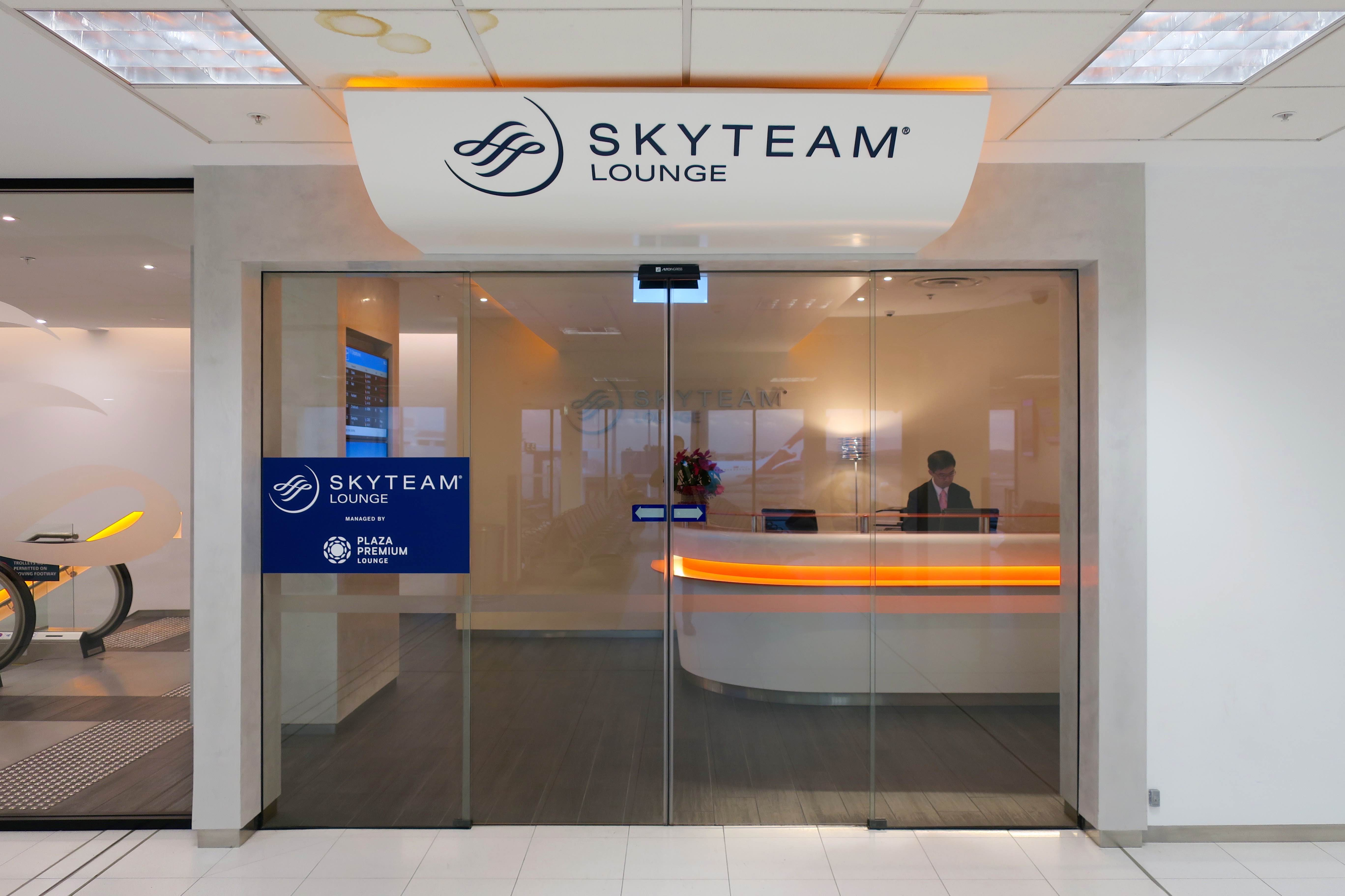 SkyTeam Sydney Lounge | Point Hacks