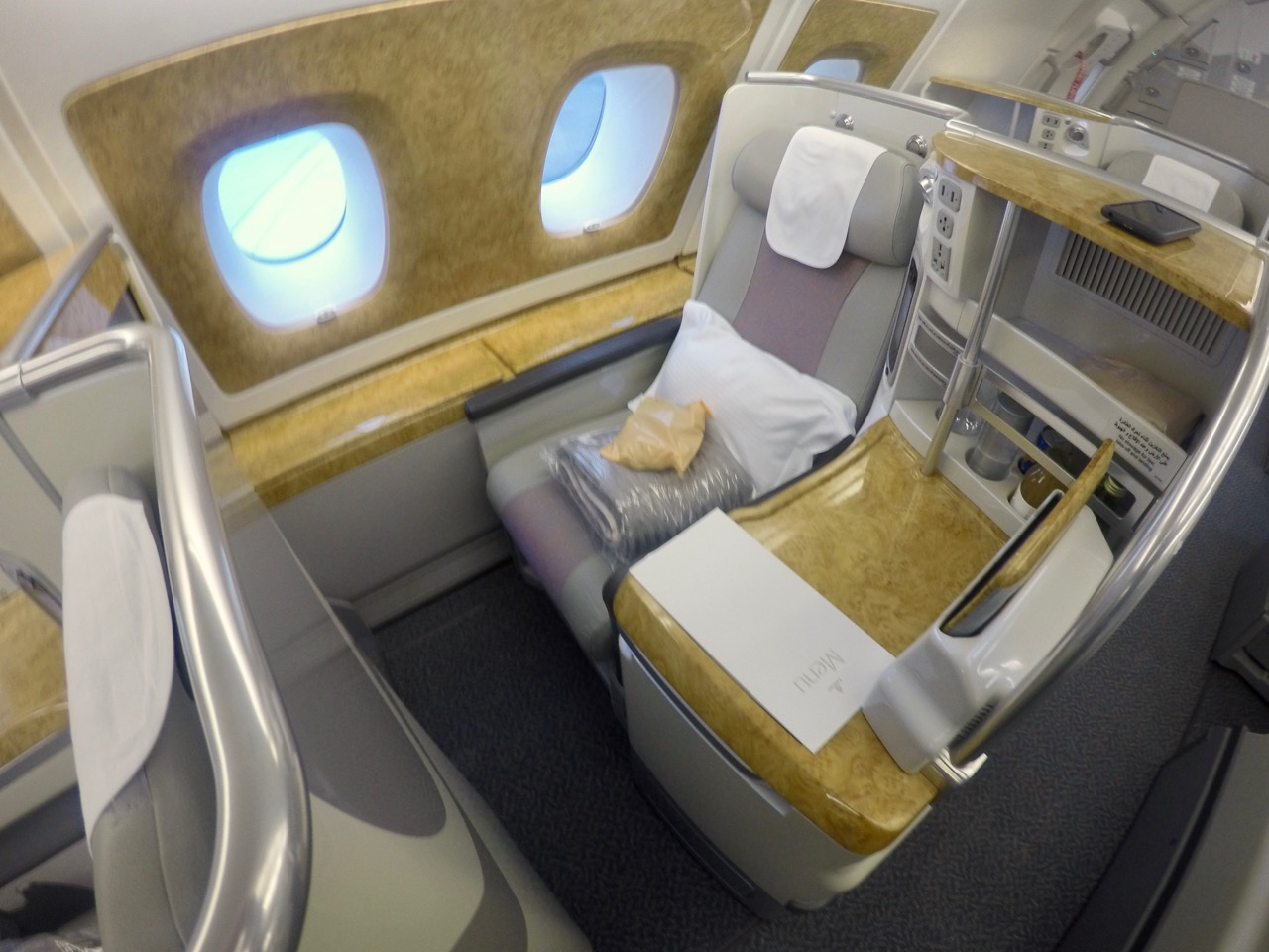 Emirates A380 Business Class Cabin | Point Hacks