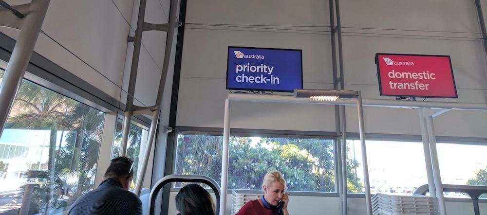 Brisbane Priority Check-in