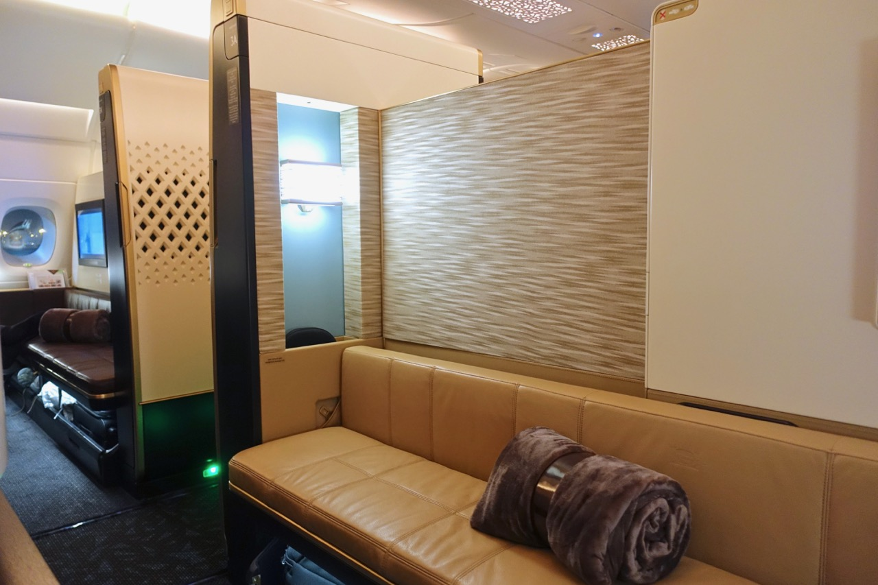 Etihad A380 First Apartment