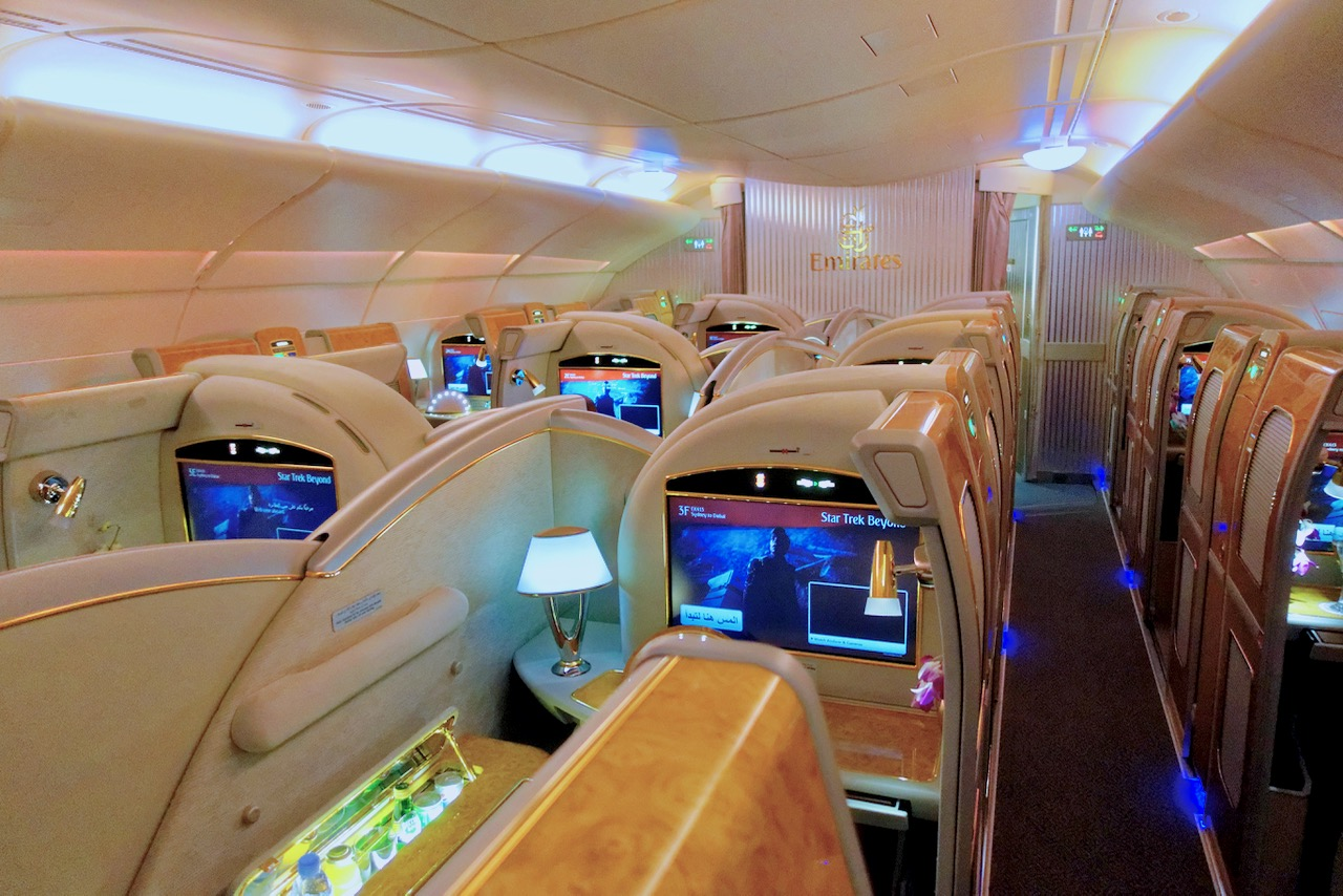 Emirates A380 First Class overview   Point Hacks