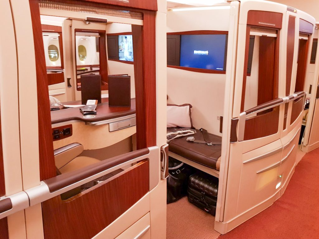 Singapore Airlines A380 (old) First Class Suites