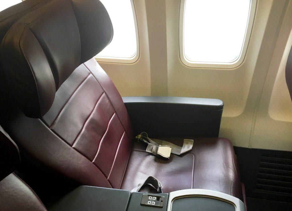 Qantas Boeing 737 Business Class