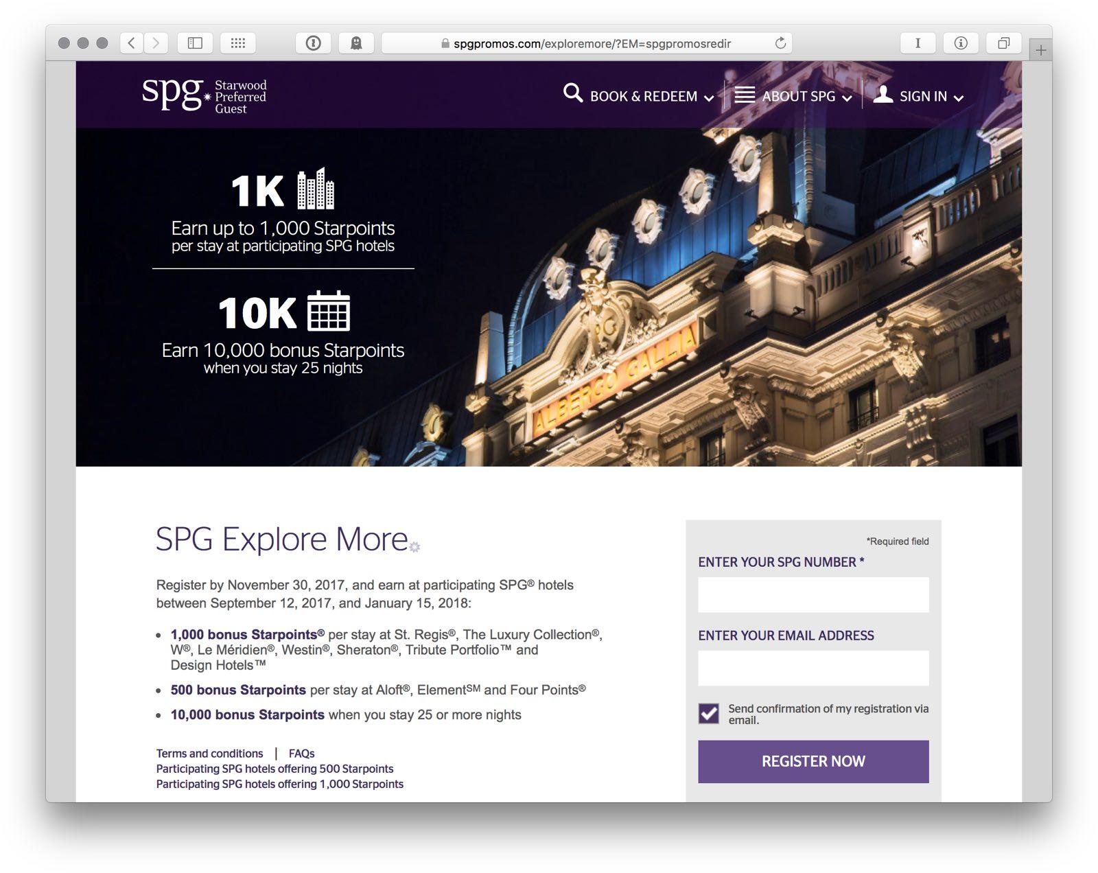 SPG Explore More