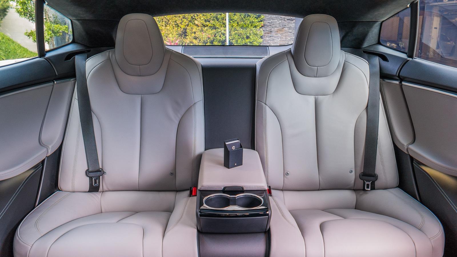 Evoke Tesla interior
