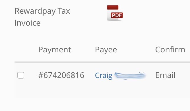 Rewardpay Invoice1 | Point Hacks
