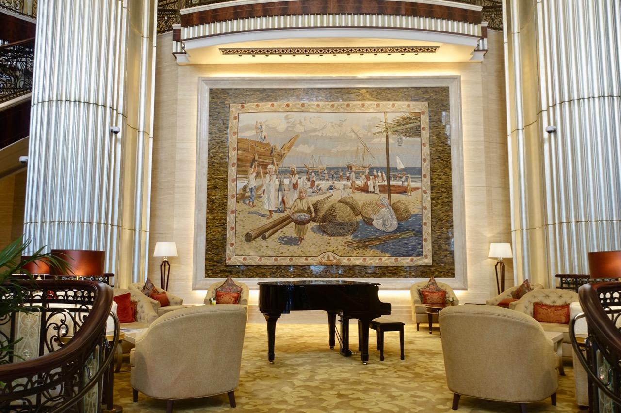 The St. Regis Abu Dhabi Lobby | Point Hacks