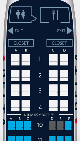Delta Domestic First Class | Point Hacks