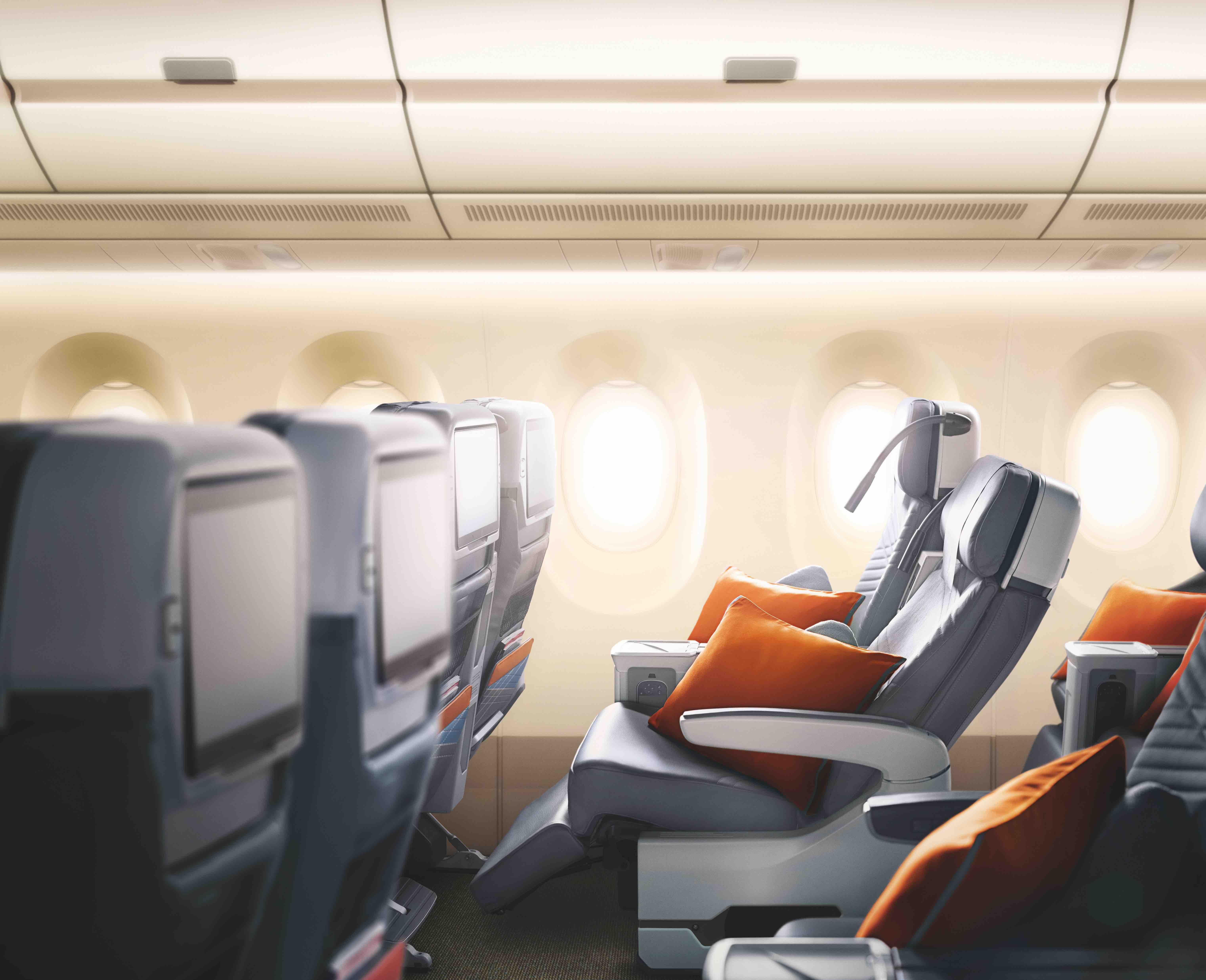Singapore Airlines A350-900 Premium Economy