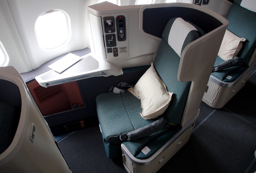 Cathay Pacific 777 Business Class | Point Hacks