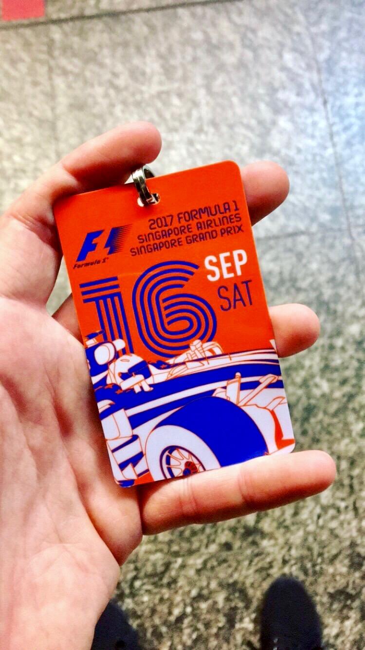 Formula 1 Grand Prix ticket