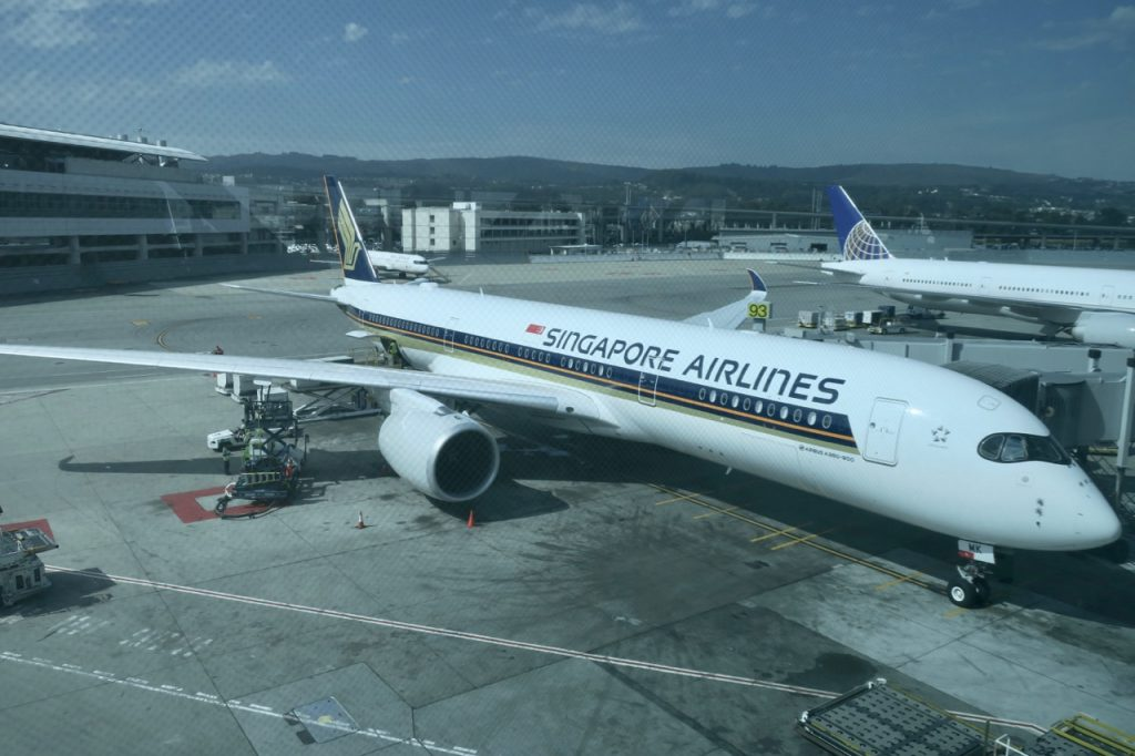 Singapore Airlines A350 | Point Hacks