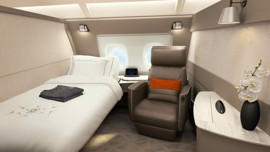 Singapore Airlines upcoming A380 First Class Suites