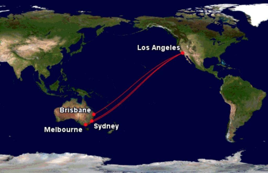 Flying Virgin Australia to USA
